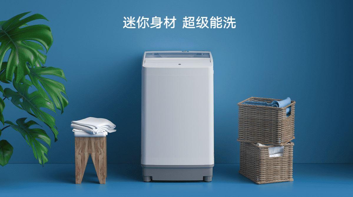 Xiaomi laza sus dos nuevas lavadoras de carga superior de tamaño compacto