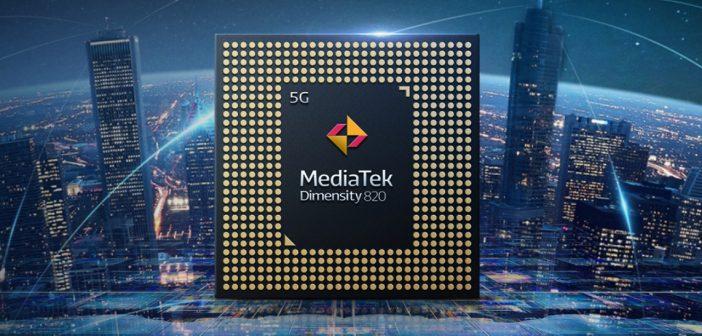 Así es el nuevo MediaTek Dimensity 820, un procesador de alto rendimiento que debutará en el Redmi 10x. Noticias Xiaomi Adictos