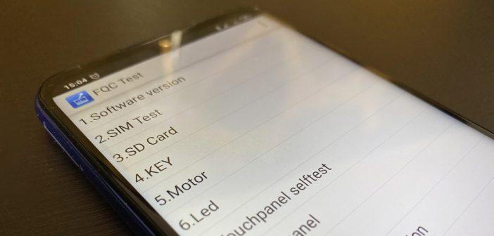 Menu CIT Xiaomi comprobar estado componentes MIUI. Noticias Xiaomi Adictos