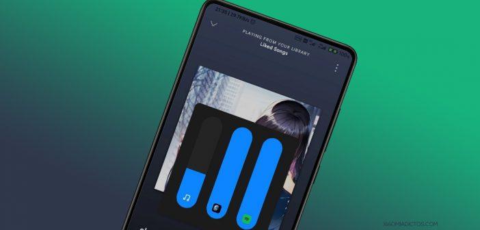 MIUI 12 nos permitirá reproducir varias fuentes de sonido al mismo tiempo controlando su volumen por separado. Noticias Xiaomi Adictos