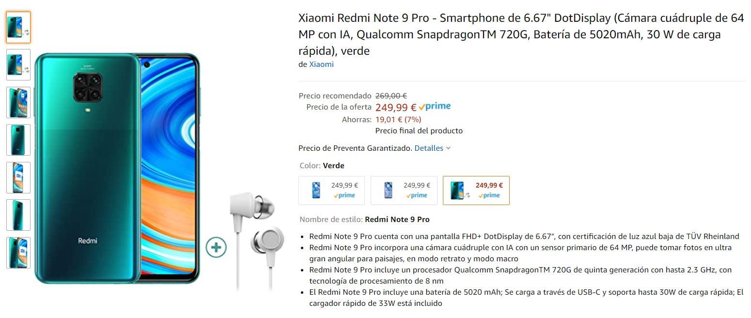 Ya puedes reservar tu Redmi Note 9 o Note 9 Pro en Amazon a un precio promocional de 179€. Noticias Xiaomi Adictos