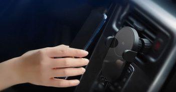 Xiaomi lanza un nuevo cargador inalámbrico para coche aún más económico