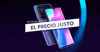 El Xiaomi Mi Note 10 Lite llega a España a un precio promocional de 349 euros