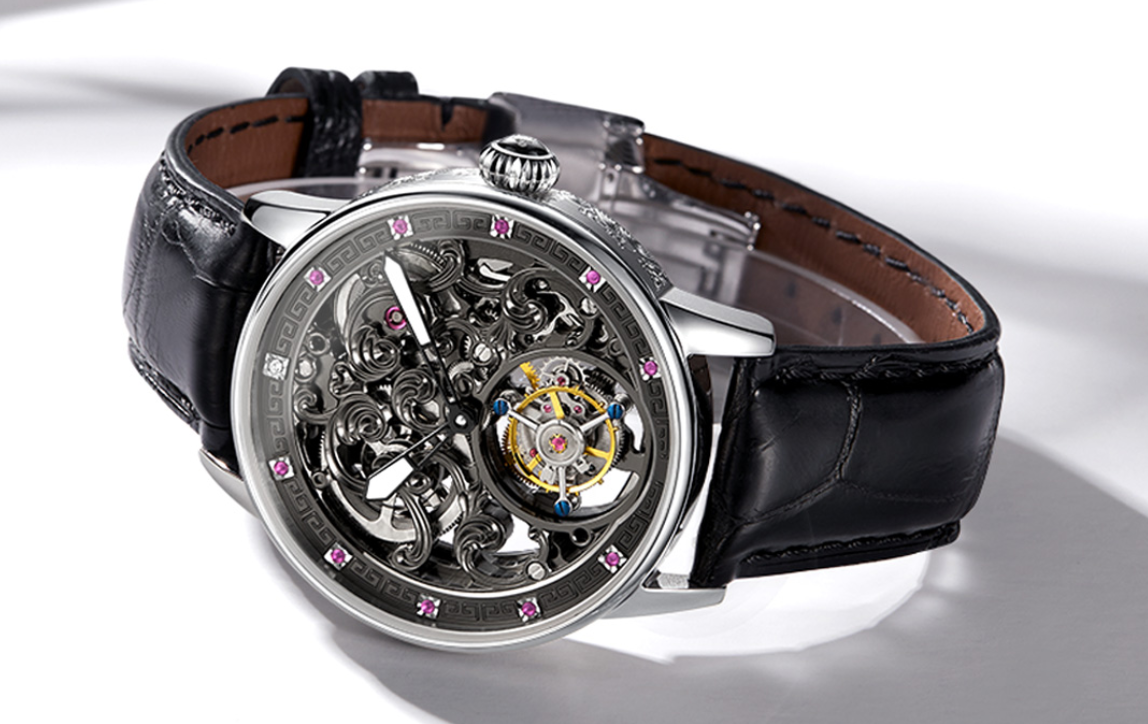 Xiaomi pone a la venta el reloj mecánico más llamativo que probablemente hayas visto