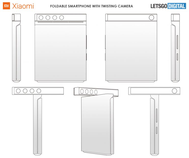 Xiaomi surprises us again with one of its futuristic folding smartphone patents