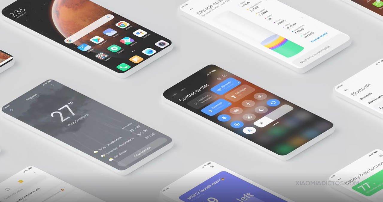 Beta Global de MIUI 12: Redmi Note 8 Pro y Note 7