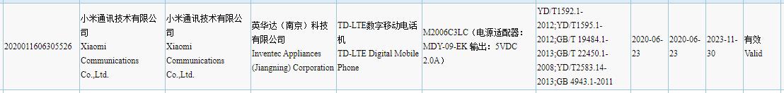 El Redmi 9A obtiene su certificación 3C desvelándonos parte de sus características. Noticias Xiaomi Adictos
