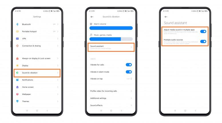 Un nuevo sistema de control de sonido más avanzado está a punto de llegar a MIUI 12. Noticias Xiaomi Adictos