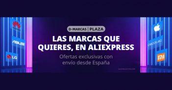 """Aliexpress celebra el """"D-Marcas"""": ofertas en productos Xiaomi y otras marcas con envío rápido desde España. Noticias Xiaomi Adictos"""