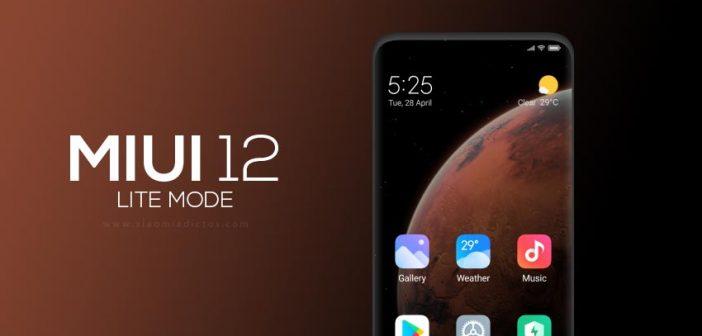 MIUI 12 Lite, el nuevo modo introducido por Xiaomi del que muy pocos han hablado. Noticias Xiaomi Adictos