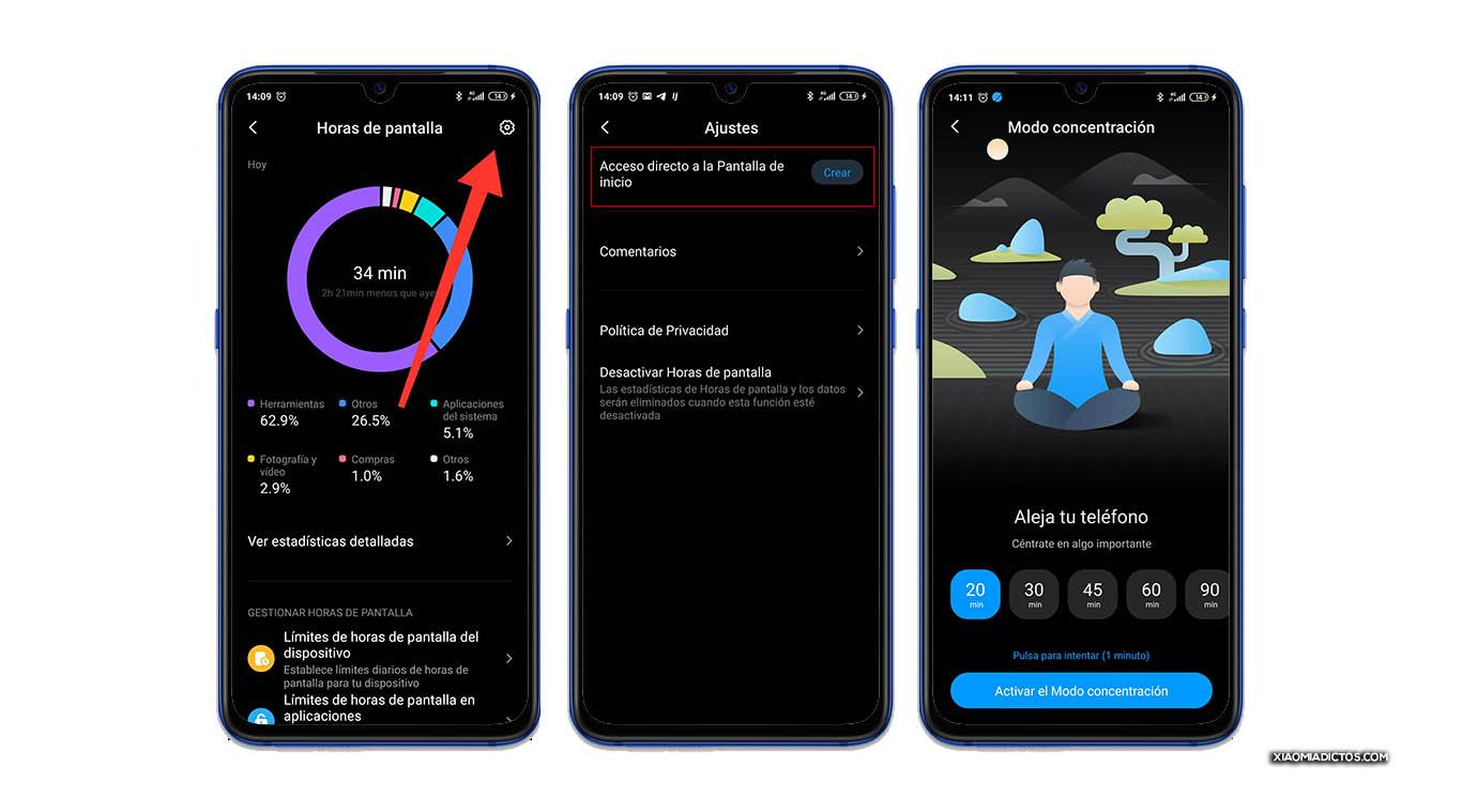 Así puedes activar el modo concentración en tu Xiaomi con MIUI. Noticias Xiaomi Adictos
