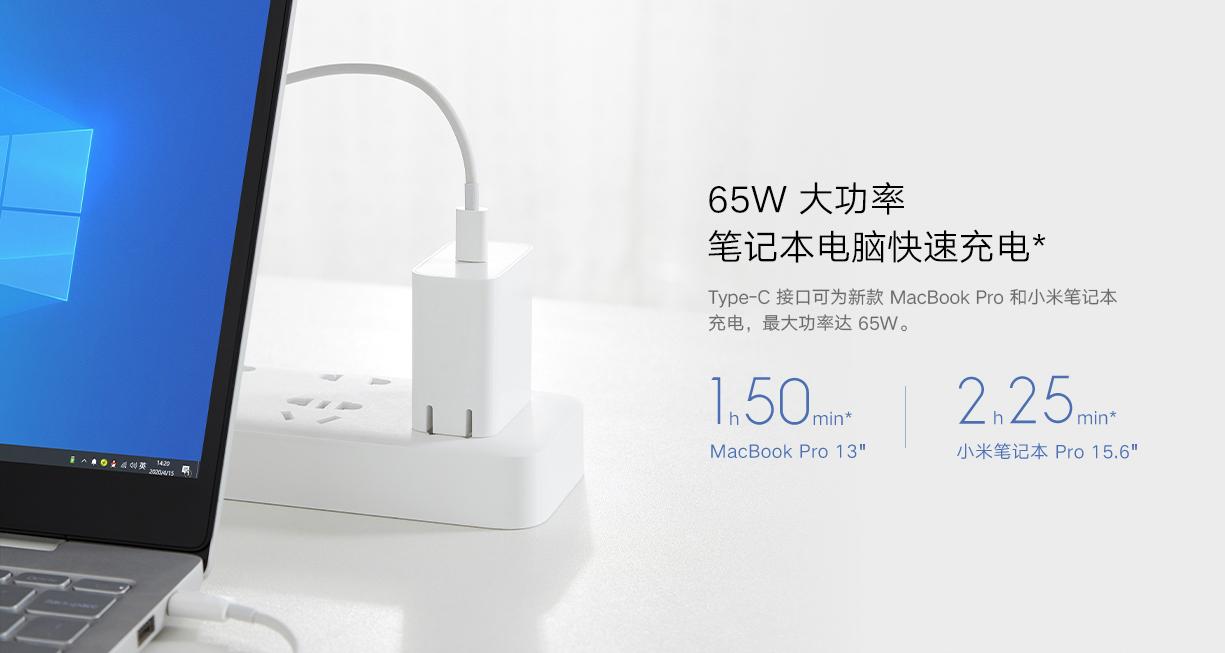 Xiaomi presenta un nuevo cargador de 65W ideal para todo tipo de smartphones y portátiles. Noticias Xiaomi Adictos