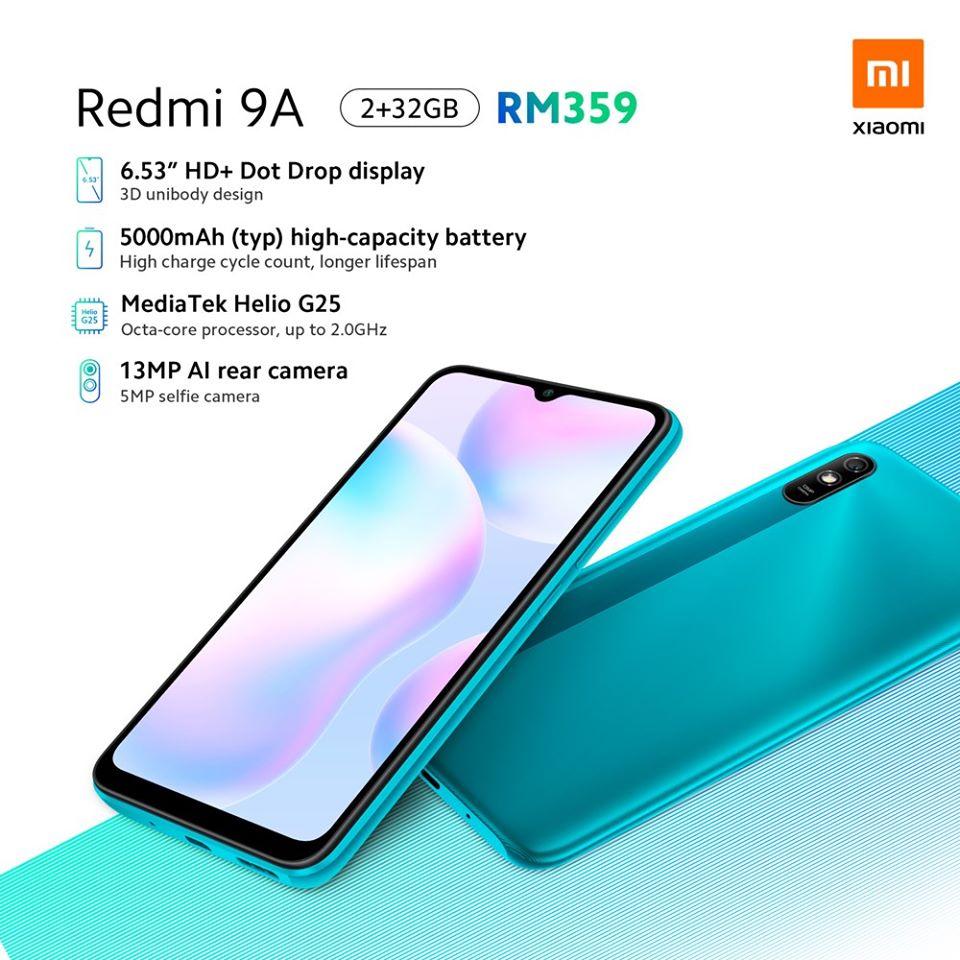 Xiaomi Redmi 9A, características, especificaciones y precio. Noticias Xiaomi Adictos