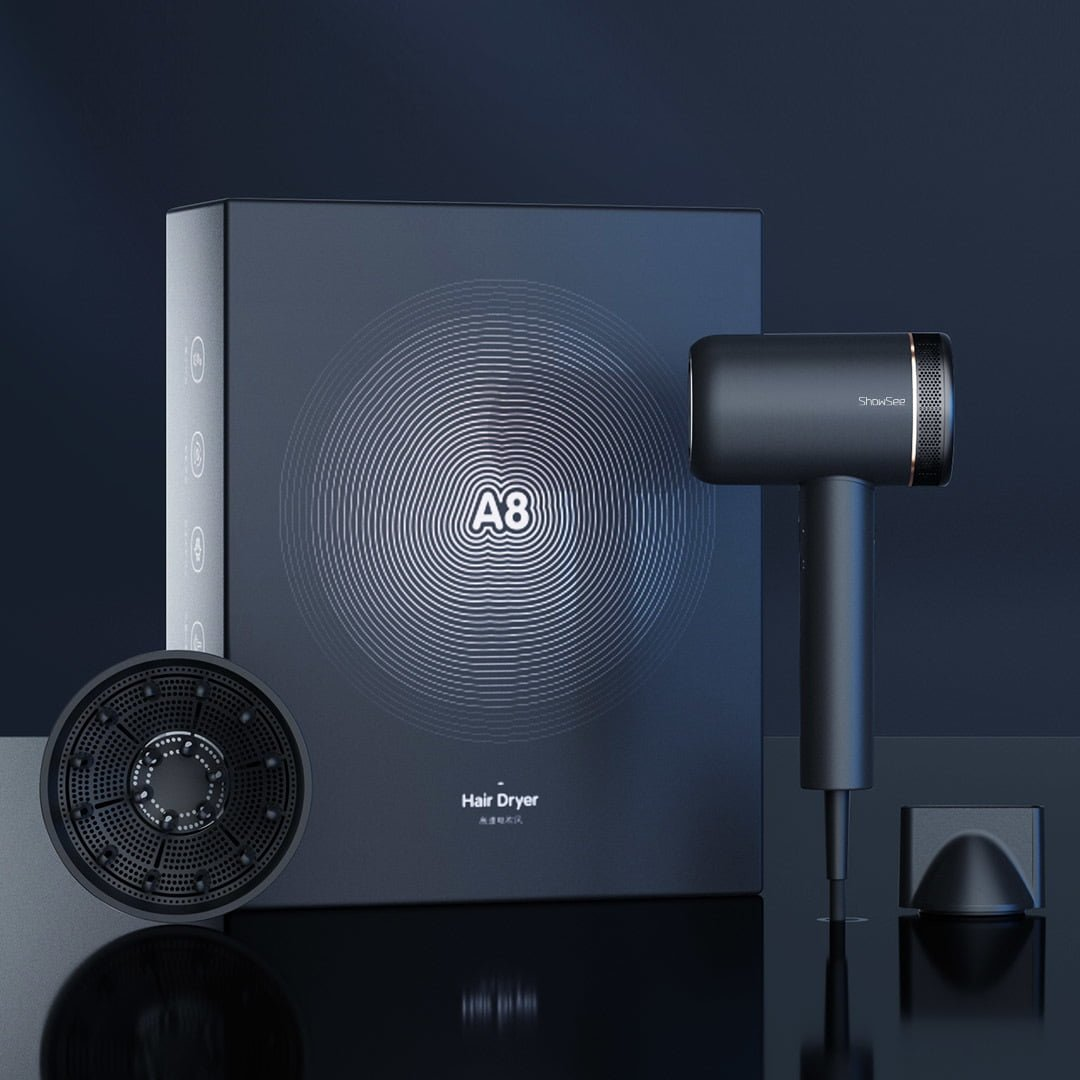 Xiaomi pone a la venta un potente secador de pelo iónico con una alta tasa de secado. Noticias Xiaomi Adictos