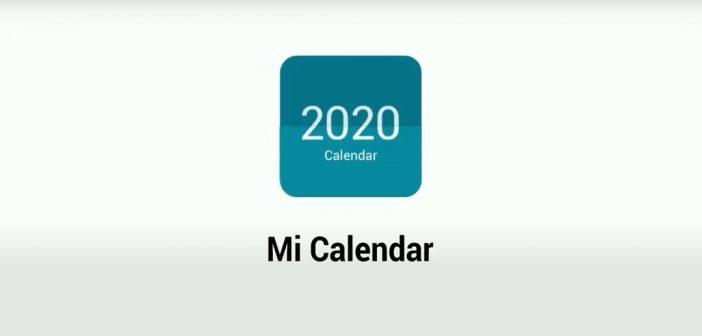 La aplicación Mi Calendar de Xiaomi llega a la Play Store mejorando así su actualización. Noticias Xiaomi Adictos