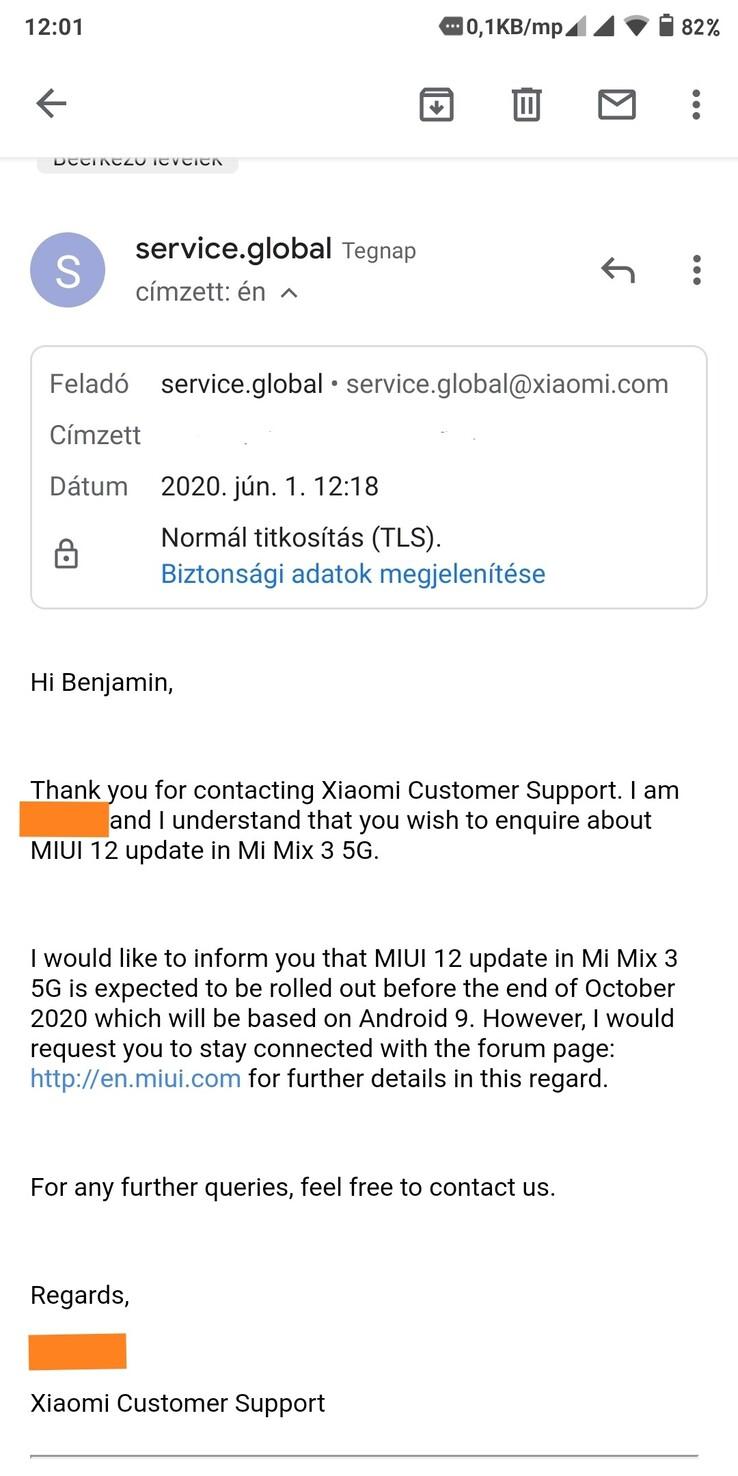 El Xiaomi Mi Mix 3 5G se actualizará a MIUI 12 pero seguirá sin ver Android 10. Noticias Xiaomi Adictos