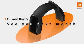 La Xiaomi Mi Band 5 llegará al mercado Global el próximo mes julio como la Mi Smart Band 5
