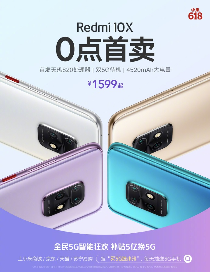 El nuevo Redmi 10X se convierte en todo un éxito agotando sus primeras unidades en 5 minutos. Noticias Xiaomi Adictos
