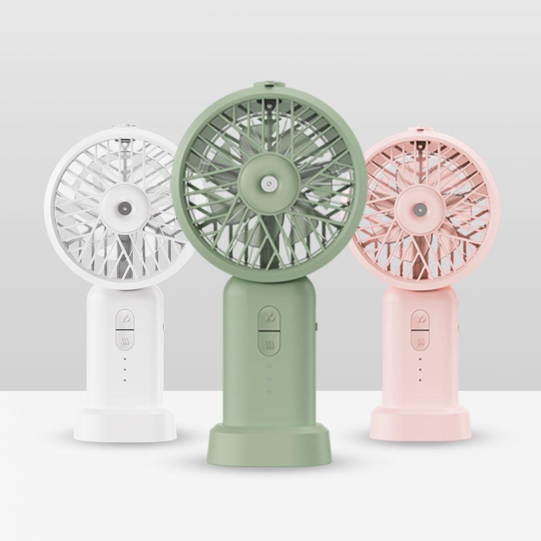 Xiaomi pone a la venta un ventilador portátil de tipo nebulizador: un compañero ideal para el verano
