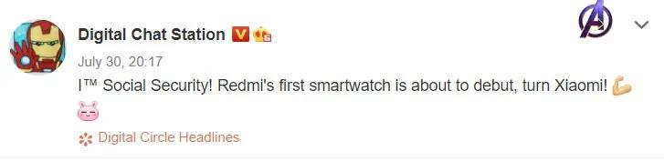 Redmi estaría a punto de lanzar su primer smartwatch como alternativa al Xiaomi Mi Watch. Noticias Xiaomi Adictos