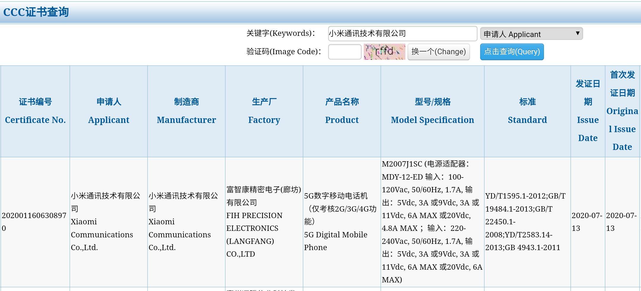 El nuevo buque insignia de Xiaomi ha sido certificado sorprendiendo con su carga ultra rápida. Noticias Xiaomi Adictos