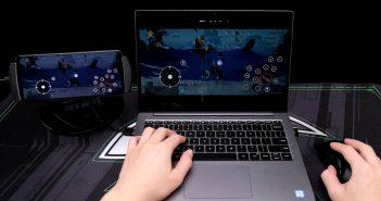 Así de sencillo resultará jugar con ratón y teclado en el Black Shark 3S. Noticias Xiaomi Adictos
