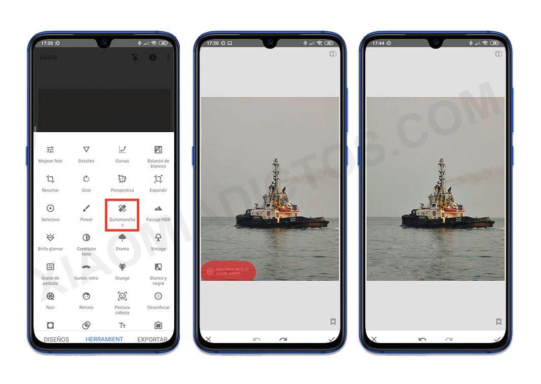 Eliminar marca de agua cámara MIUI de Xiaomi. Noticias Xiaomi Adictos