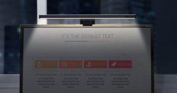 Xiaomi pone a la venta otra lámpara para monitor capaz de iluminar toda nuestra zona de trabajo. Noticias Xiaomi Adictos