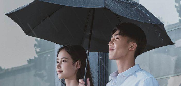 Xiaomi pone a la venta un curioso paraguas automático de plegado inverso con iluminación. Noticias Xiaomi Adictos