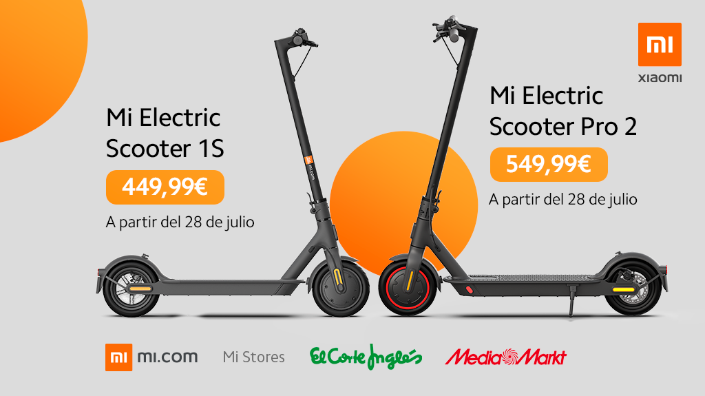 The New Xiaomi Mi Electric Scooter 1s Pro 2 And Essential Arrive In Spain Price And Where To Buy Them Xiaomist