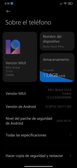 MIUI 12 Global based on Android 10 comes to Redmi Note 8 Pro: so you can install it. Xiaomi  News