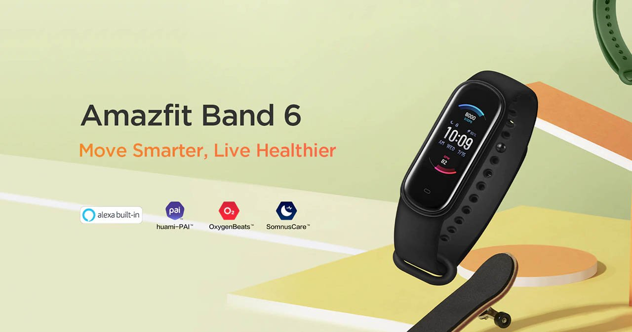 This is what the unexpected Amazfit Band 6 looks like, the Xiaomi Mi Band 5 that we all wanted. Xiaomi  News