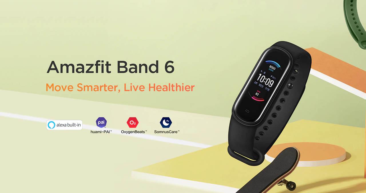 Así luce la inesperada Amazfit Band 6, la Xiaomi Mi Band 5 que todos queríamos. Noticias Xiaomi Adictos