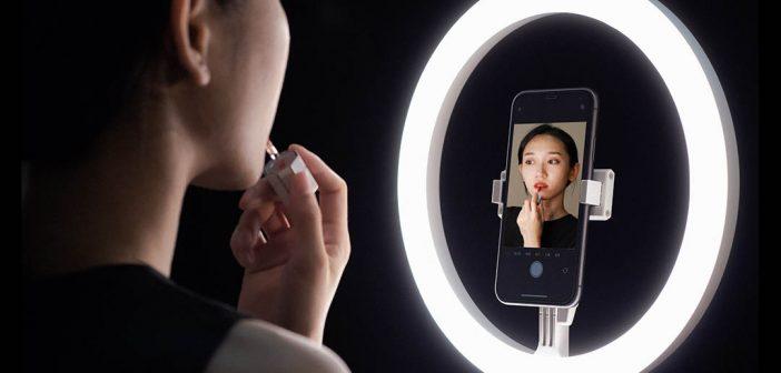 Xiaomi pone a la venta un anillo de luz con trípode plegable ideal para YouTube e Instagram. Noticias Xiaomi Adictos