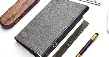 Xiaomi pone a la venta un curioso diario con bloqueo por huella dactilar. Noticias Xiaomi Adictos