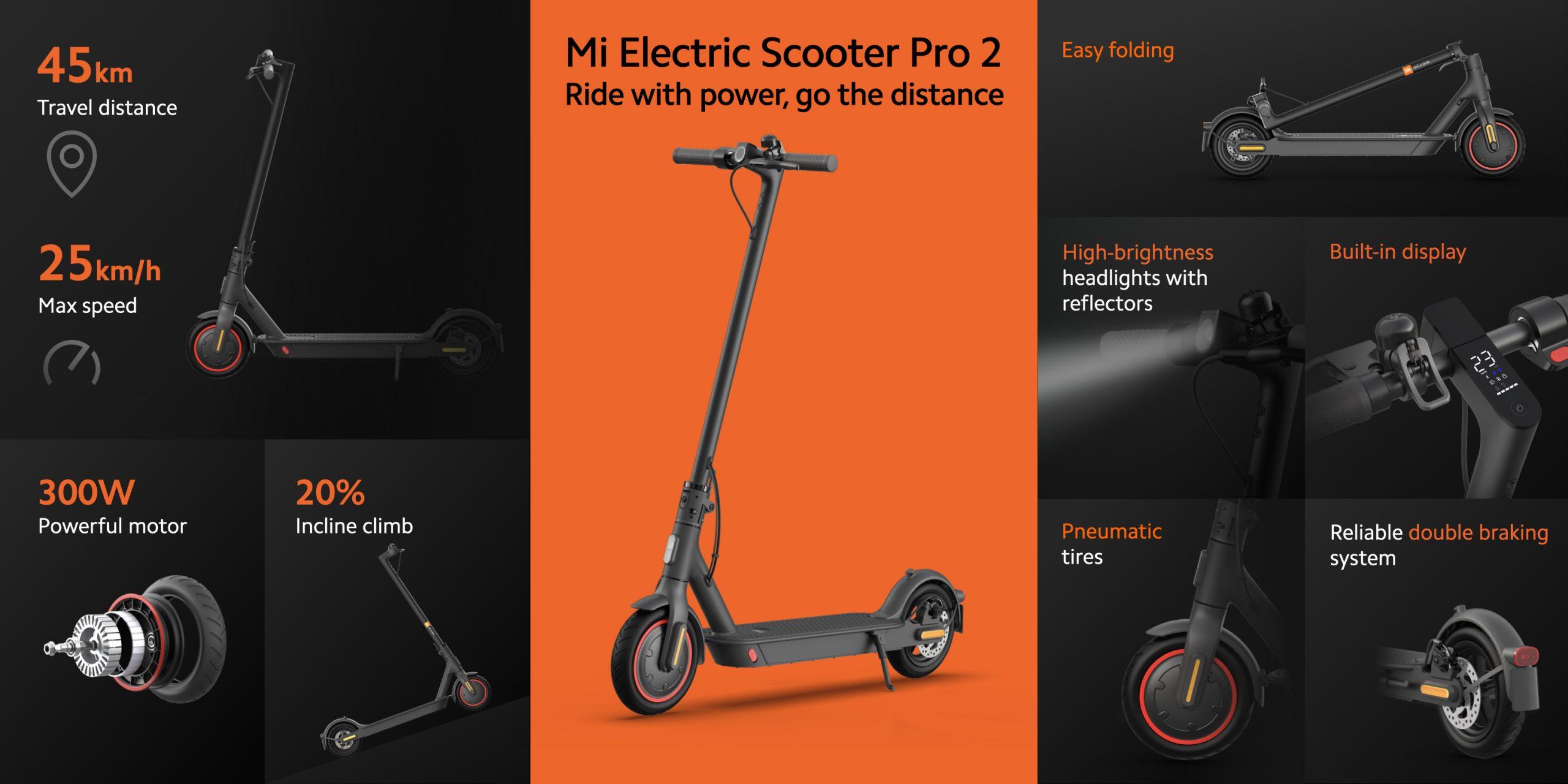 Xiaomi Mi Electric Scooter 1S y Mi Electric Scooter 2 Pro: dos patinetes eléctricos con ciertas mejoras. Noticias Xiaomi Adictos