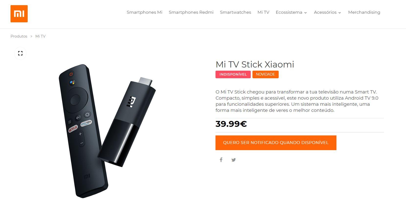El precio del Xiaomi Mi TV Stick queda al descubierto junto al de otros productos que llegarán a Europa. Noticias Xiaomi Adictos