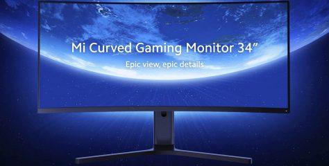 Nuevo Xiaomi Mi Curved Gaming Monitor: 34 pulgadas, WQHD, 144Hz y AMD Free-Sync