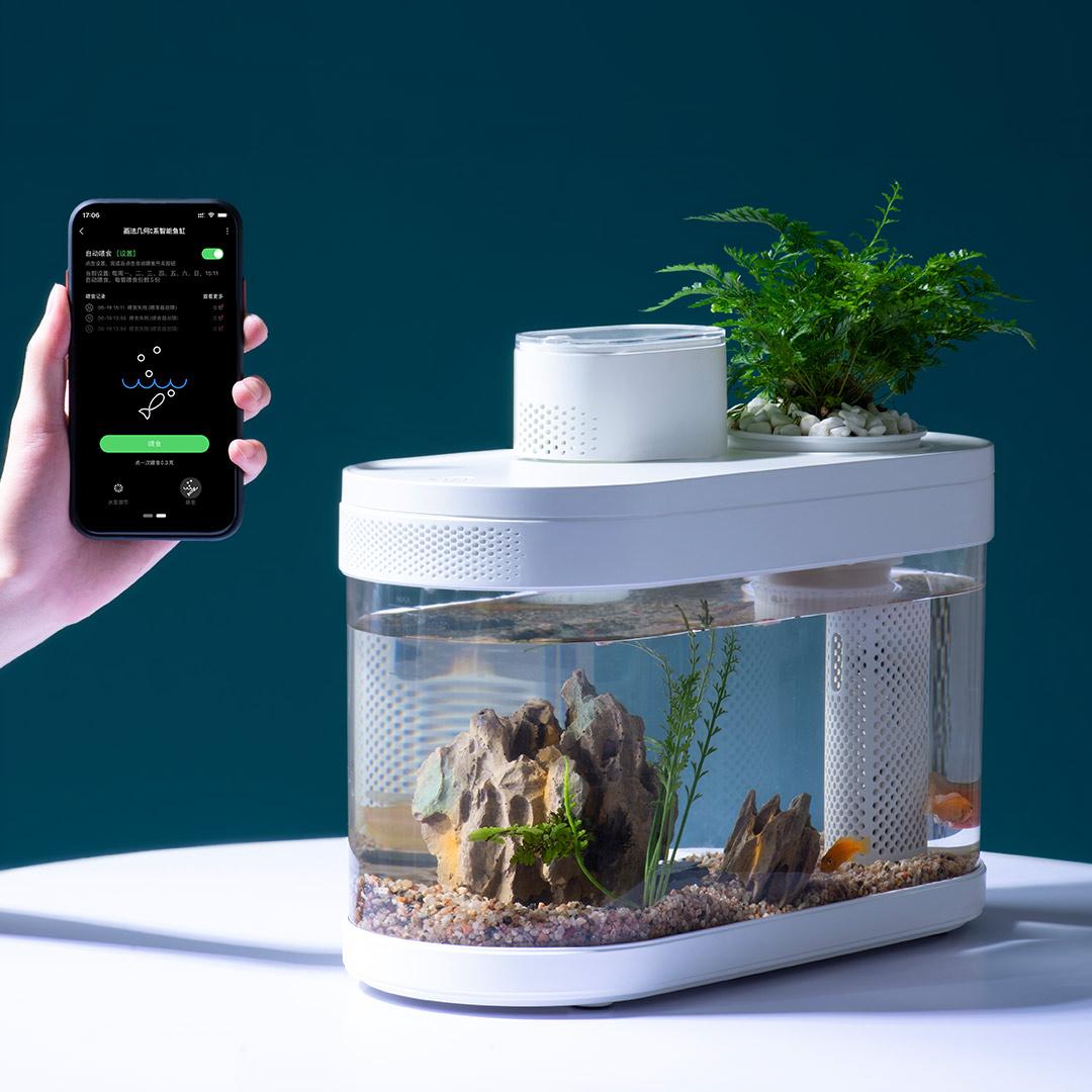 Xiaomi pone a la venta un llamativo acuario inteligente con WiFi y alimentador automático. Noticias Xiaomi Adictos