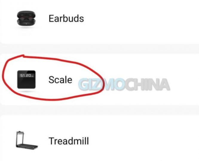 The first details of the Amazfit Scale are filtered, the smart scale that will rival the Xiaomi. News Xiaomi