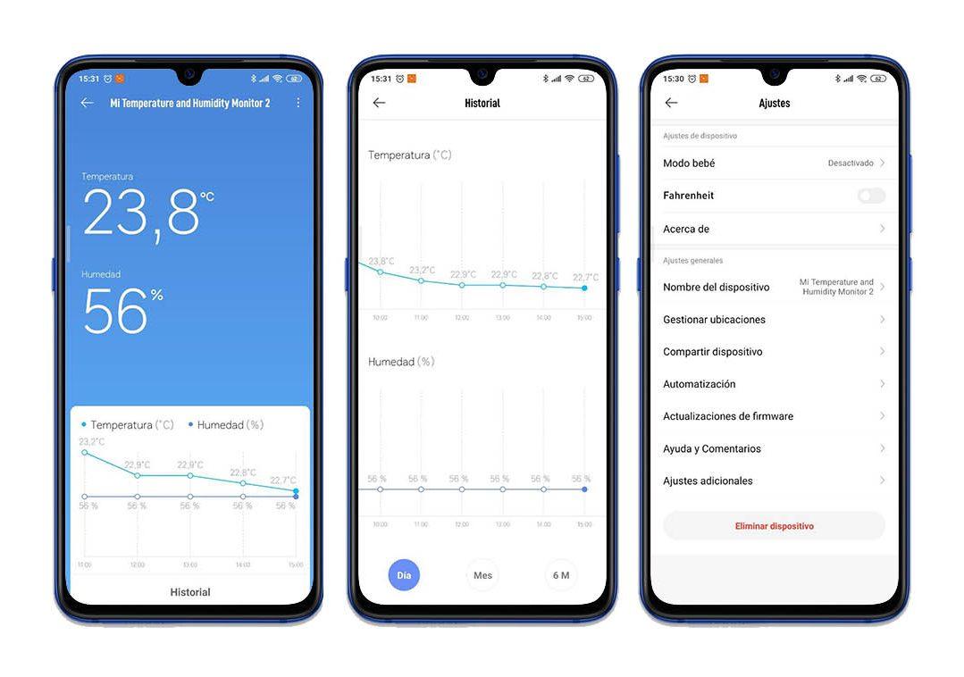 Analisis sensor temperatura humedad Xiaomi Mi Temperature and Humidity Monitor 2 con review y unboxing. Noticias Xiaomi Adictos