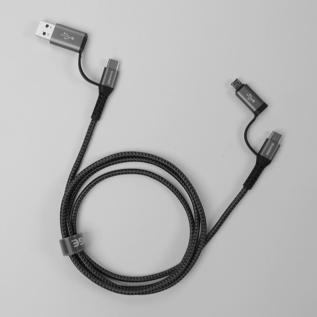 """Xiaomi pone a la venta un práctico cable """"4 en 1"""" que permite conectar cualquier dispositivo. Noticias Xiaomi Adictos"""
