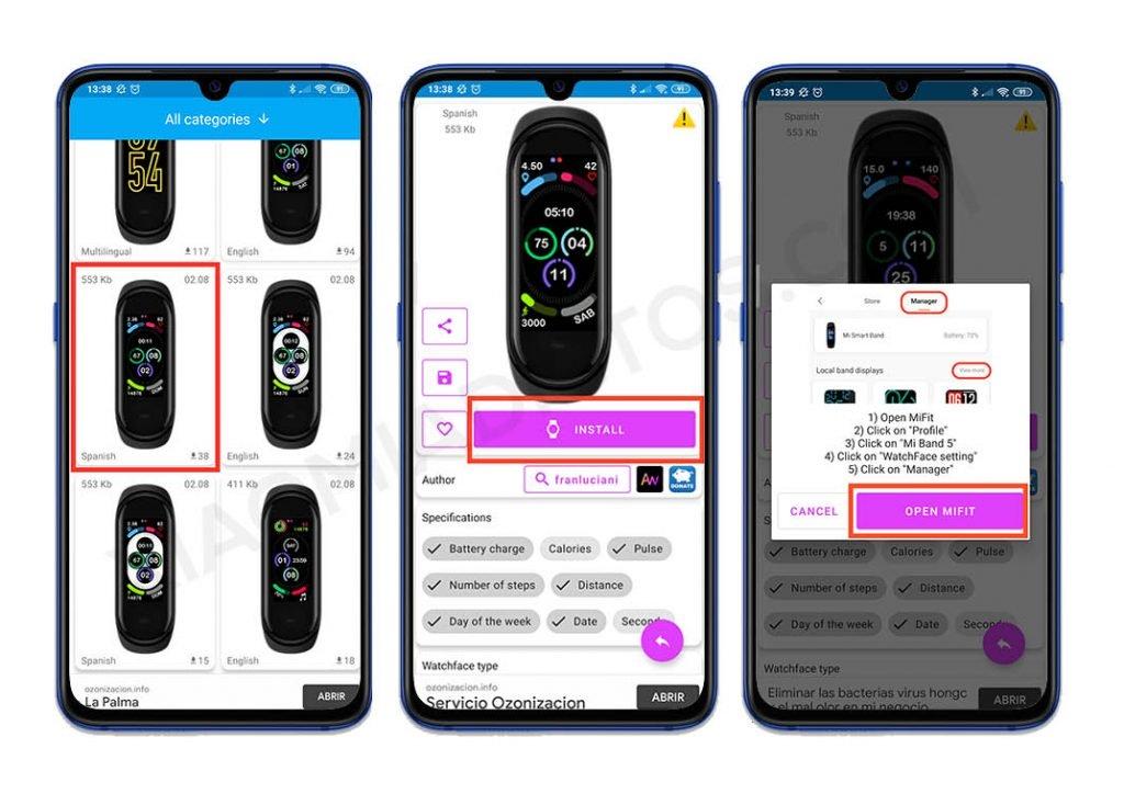 Estas apps te permiten exprimir y ampliar las posibilidades de tu Xiaomi Mi Band. Noticias Xiaomi Adictos