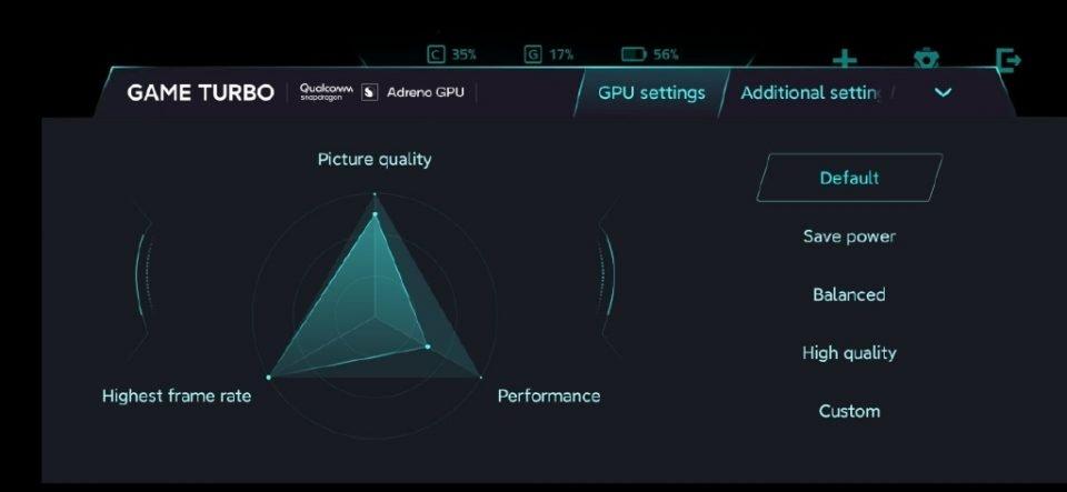 Xiaomi introduce un panel de configuración para exprimir la gráfica en su último buque insignia. Noticias Xiaomi Adictos