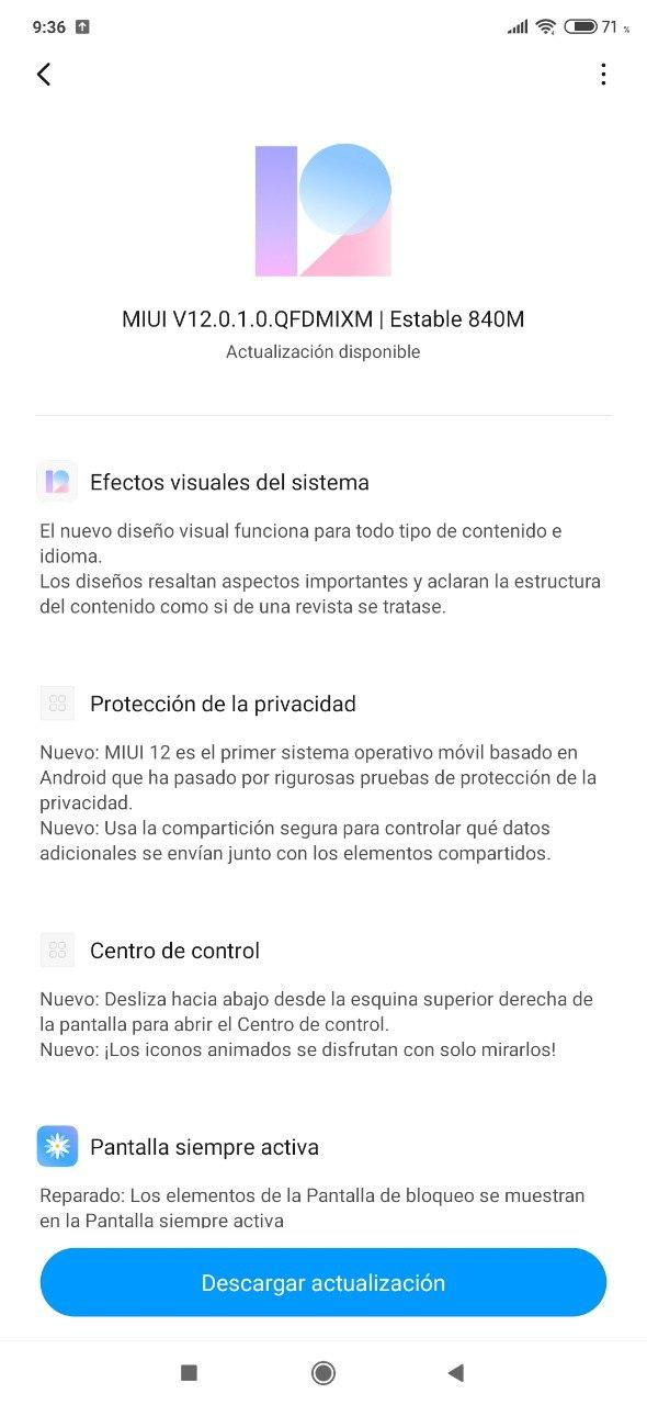Los Xiaomi Mi Note 10 y Mi Note 10 Pro se actualizan a MIUI 12 Global y Estable. Noticias Xiaomi Adictos