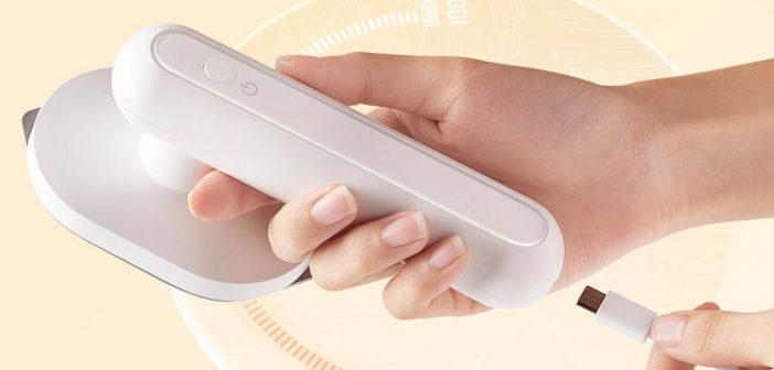 Xiaomi pone a la venta una práctica plancha de ropa portátil que cuenta con batería. Noticias Xiaomi Adictos