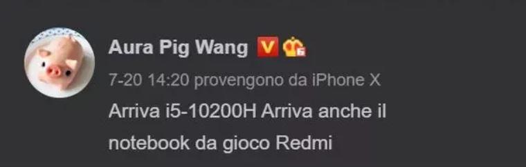 Redmi podría lanzar en breve su primer portátil gaming con procesador Intel. Noticias Xiaomi Adictos