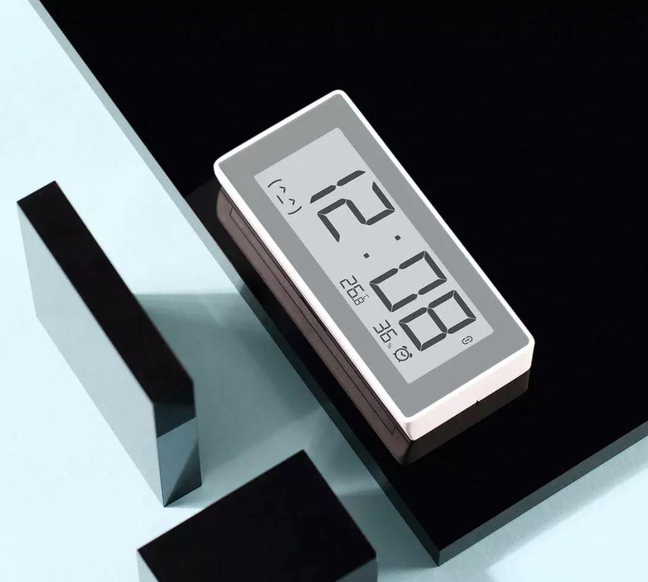 Xiaomi pone a la venta un práctico reloj despertador con sensor de temperatura y humedad. Noticias Xiaomi Adictos
