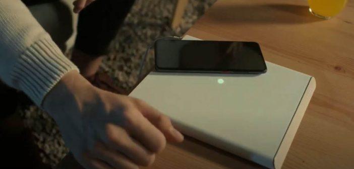 Así es como funciona la futurística base de carga de Xiaomi con detección en superficie. Noticias Xiaomi Adictos