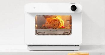 Xiaomi lanza un nuevo horno a vapor que además de ser inteligente cocina en tiempo récord. Noticias Xiaomi Adictos